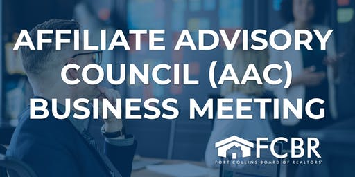 Affiliate Advisory Council Business Meeting - August