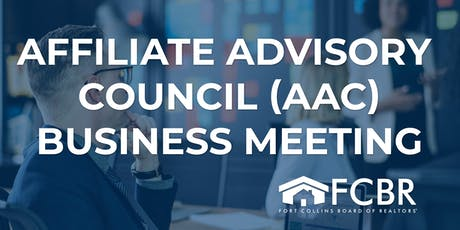 Affiliate Advisory Council Business Meeting - October tickets