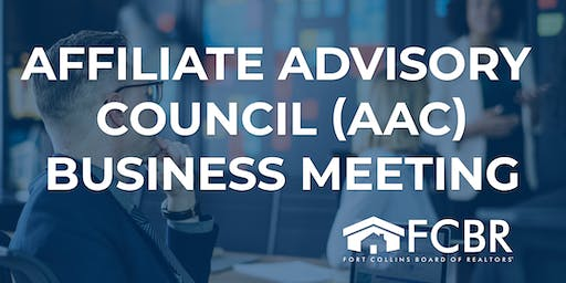 Affiliate Advisory Council Business Meeting - October