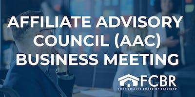 Affiliate Advisory Council Business Meeting - November