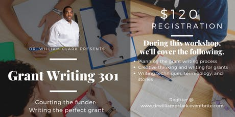 Grant Writing 301 - Courting the funder:  Writing the perfect grant tickets