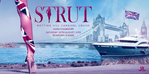 Strut London - The boat cruise for London Notting Hill Carnival
