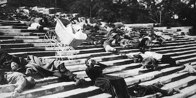 """Meu Filme Favorito com Gilberto Schwartsmann – Filme """"O Encouraçado Potemkin"""" (1925), de Sergei M. Eisenstein"""