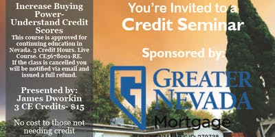 Credit Seminar - Greater Nevada/Chicago Title 5.22.19