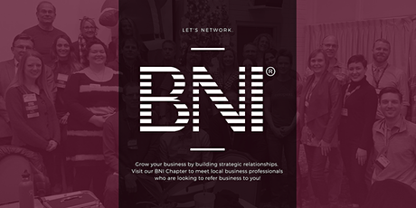 Business Networking Meeting, BNI Rose Quarter chapter tickets
