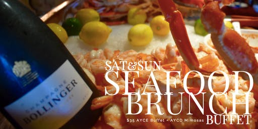 Seafood Brunch Buffet - AYCE & AYCD - on Las Olas