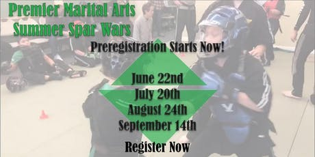 PMA Summer Spar Wars! tickets