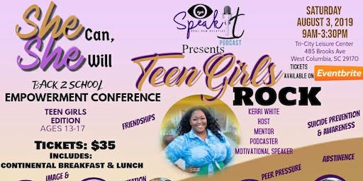 Teen Girls Rock 2019 - She Can, She Will:Teen Edition