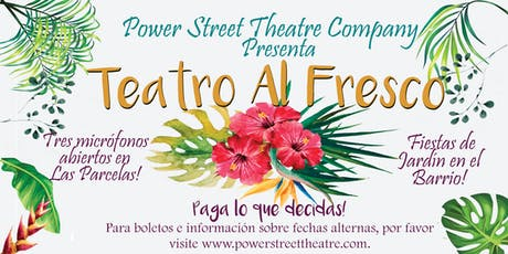 Theatre Al Fresco  tickets
