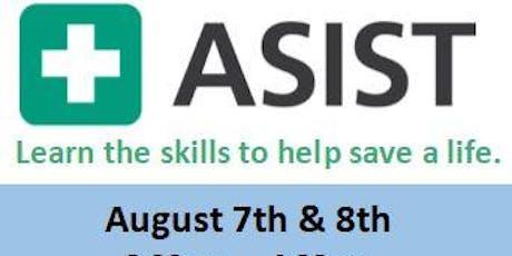 August 2019 ASIST Workshop tickets