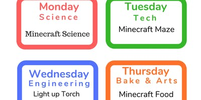 1 Day or 5 Days Summer  Holiday Week Workshops for all 3-6 YRS June 17th-21st