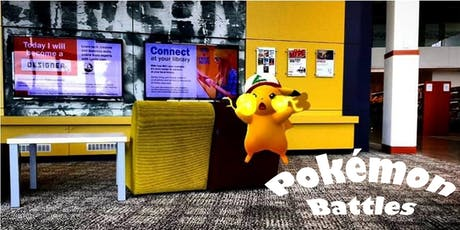 Pokémon Battles - Caboolture Library tickets