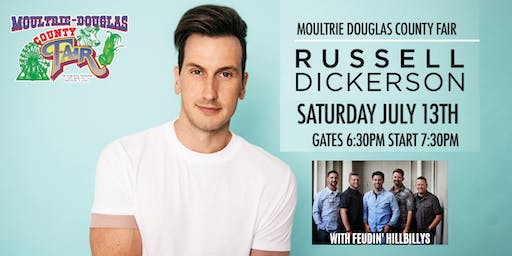 Russell Dickerson at Moultrie-Douglas County Fair