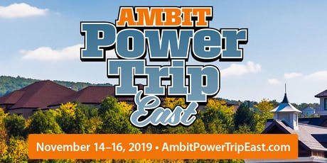 Ambit Power Trip East—Fall 2019 tickets