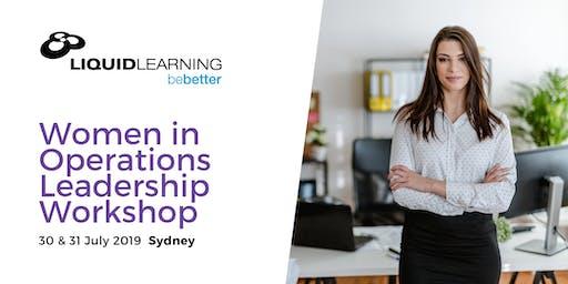 Women in Operations Leadership Workshop