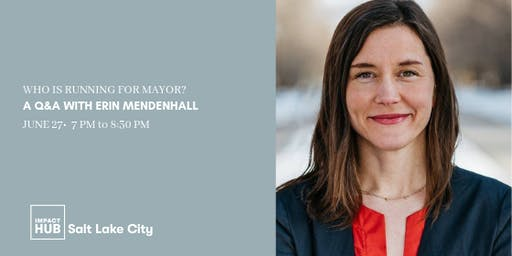 Who is running for Mayor: A Q&A with Erin Mendenhall