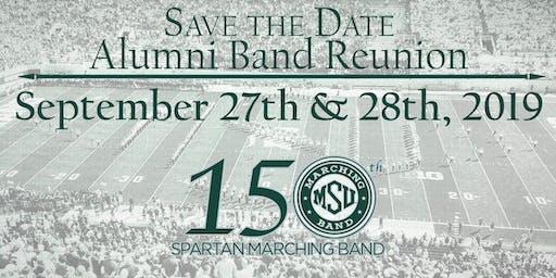 MSU Alumni Band 2019 Fall Reunion