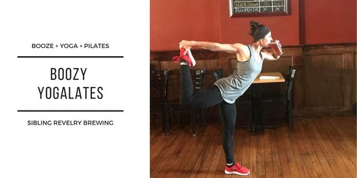 Boozy Yogalates with Sibling Revelry Brewing