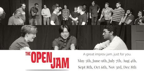 The Open Jam tickets