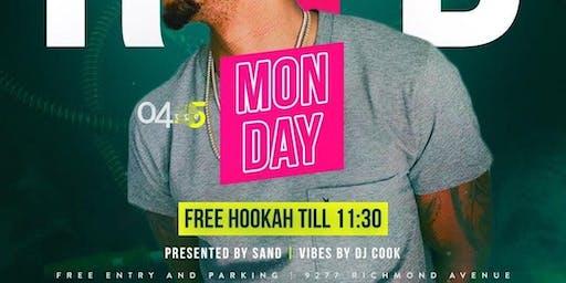RNB Free Hookah Mondays @H2O