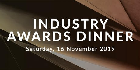 MTA Queensland Industry Awards Dinner tickets