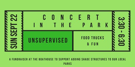 Concert In The Park featuring Unsupervised (Sunday September 22, 2019) tickets