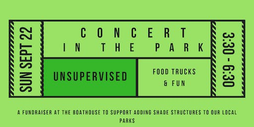 Concert In The Park featuring Unsupervised (Sunday September 22, 2019)