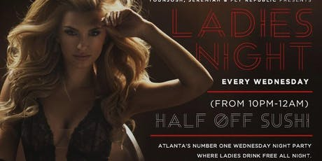 Ladies Night @ Red Martini Lounge tickets