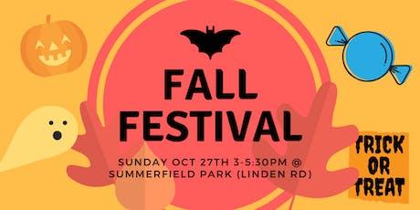 5th Annual Fall Festival tickets