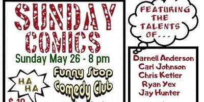 Sunday Comics at the Funny Stop Starring Darnell Anderson