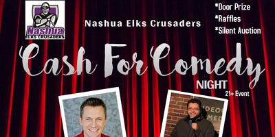 Nashua Crusaders presents Cash For Comedy
