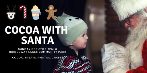 8th Annual Cocoa with Santa Event