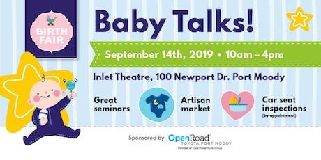 Birth Fair Baby Talks tickets