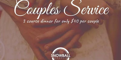 Couples Service & Dinner