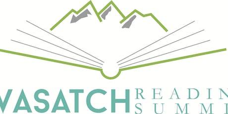 Wasatch Reading Summit Vendors/Sponsors/Advertising Registration tickets