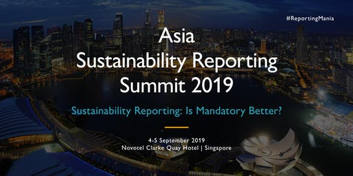 Asia Sustainability Reporting Summit 2019 (USD)