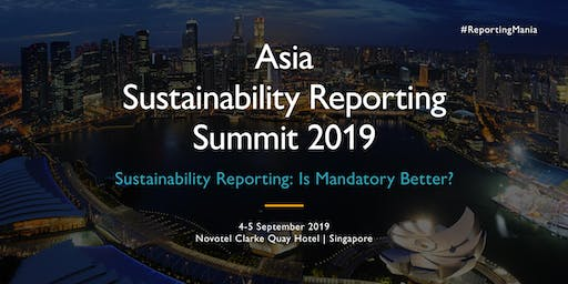 Asia Sustainability Reporting Summit 2019 (SGD)