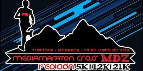 MEDIA MARATON CROSS MDZ  RACE 2019 - 5K, 12K, 21K. entradas