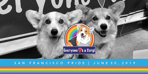 Everyone Loves a Corgi at SF Pride Parade