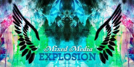 Mixed Media Explosion - Summer 2019 Kids Art Camp (Ages 7-12) tickets