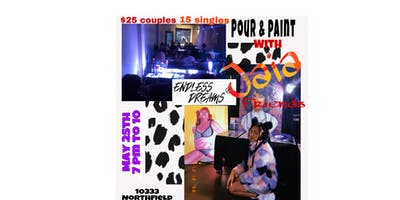Endless dreams painting & pouring with Jaia
