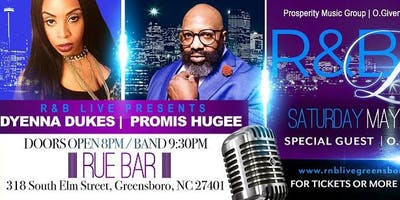 R&B LIVE GREENSBORO