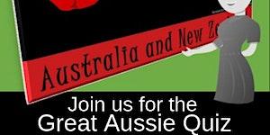 ANZAC DAY TRIVIA NIGHT - The Great Aussie Quiz