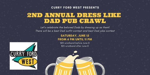 2nd Annual Dress Like Dad Pub Crawl