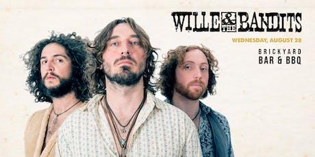 Wille & The Bandits at Brickyard Bar & BBQ tickets