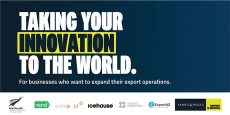 Taking Your Innovation to the World: Christchurch tickets