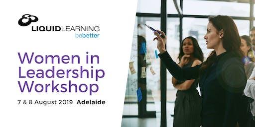 Women in Leadership Workshop - Adelaide