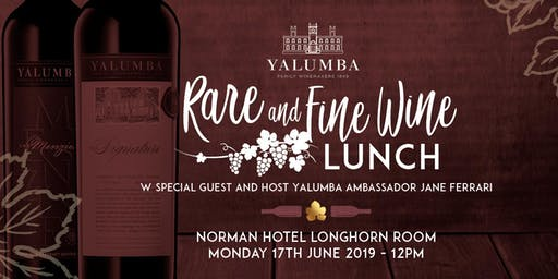 Rare & Fine Wine Lunch