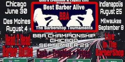 Best Barber Alive Barbershop Tournament Indianapolis IN