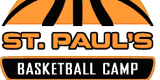 St. Paul's Summer HOOPS Camp Session II - Girls